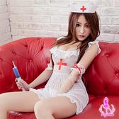 睡衣 性感睡衣 角色扮演cosplay俏麗甜心小護士五件式護士服【星光密碼】N016