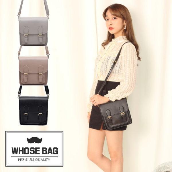 【WHOSE BAG】韓國嚴選雙帶方形迷你側背包 NO.LM208