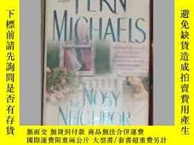二手書博民逛書店英文原版罕見The Nosy Neighbor by Fern