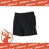 【Wildland 荒野 女 四彈透氣抗UV休閒短褲《黑色》】W1505-54/彈性/抗UV/路跑/機能褲/運動褲