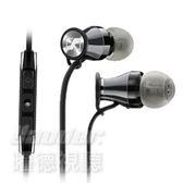 【曜德★新上市★送收納袋★ 預購】聲海 SENNHEISER MOMENTUM In-Ear i 黑 iOS系統專用 耳道式耳機