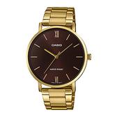 CASIO 手錶專賣店卡西歐 MTP-VT01G-5B CASIO 指針男錶 不鏽鋼錶帶 生活日常防水