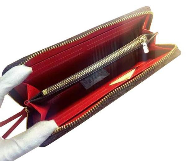 ~雪黛屋~LV 長皮夾國際正版保證進口防水防刮皮革U型包覆拉鍊主袋品證品牌盒品牌高級塵套L421191