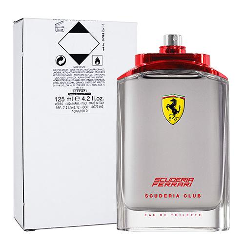 【Ferrari】法拉利 勁速聯盟 男性淡香水 125ml (TESTER-環保盒無蓋)