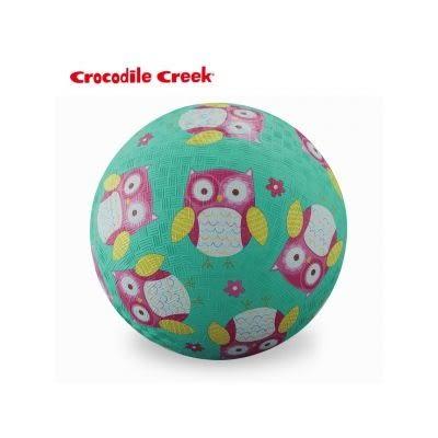 美國Crocodile Creek 5吋兒童運動遊戲球-親親貓頭鷹[衛立兒生活館]