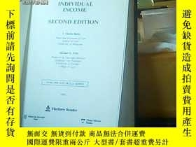 二手書博民逛書店Taxation罕見of individual inconeY6