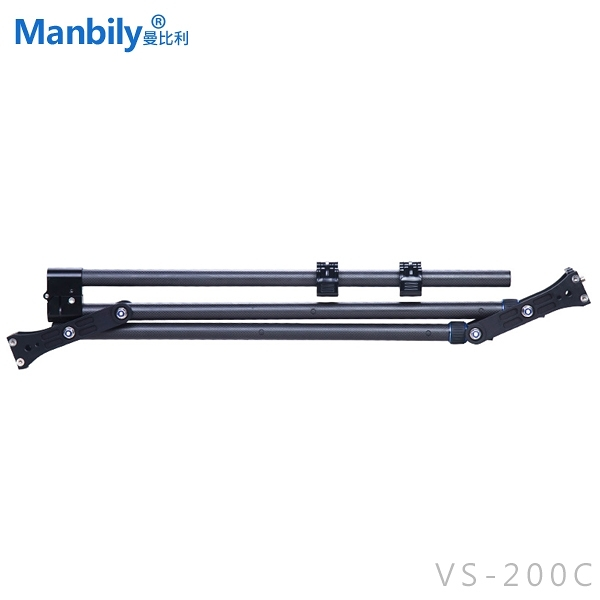 EGE 一番購】Manbily 曼比利【VS-200C】碳纖維折疊迷你搖臂【公司貨】
