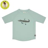 【新品上市】德國Lassig-嬰幼兒抗UV短袖泳裝上衣-鱷魚先生