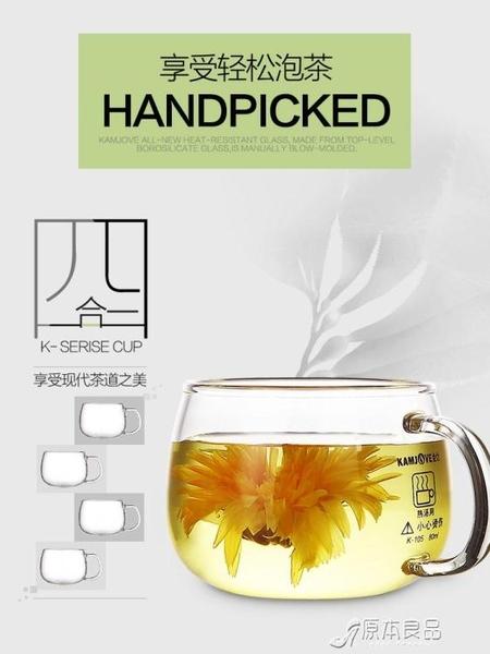 泡茶杯 玻璃杯帶把泡茶玻璃杯子男茶杯網紅水杯【618特惠】