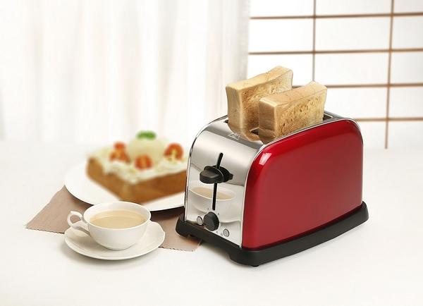 《鍋寶》厚片/薄片吐司不鏽鋼烤麵包機-火紅經典款(OV-860-D)
