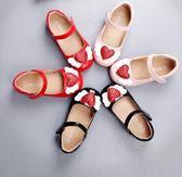 女童公主鞋 2018新款韓版春秋可愛小女孩翅膀寶寶兒童皮鞋 DN8533【野之旅】