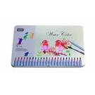 《享亮商城》70506-12 水溶色鉛筆/12色鐵盒裝  MONA