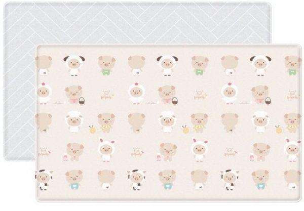 Parklon-韓國帕龍無毒PVC雙面遊戲地墊-PL-033-1豬寶寶泡泡墊7200元(無法超取)