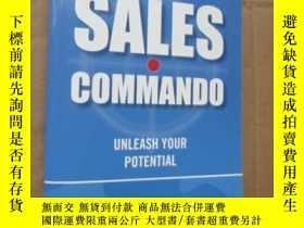 二手書博民逛書店sales罕見commando:Unleash your pot