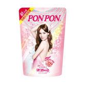 澎澎PONPON香浴乳補充包700g-亮澤滋潤型【康是美】