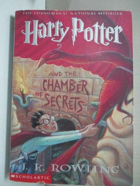 【書寶二手書T1/原文小說_GIZ】Harry Potter and the Chamber of Secrets_Rowling, J. K.