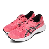 Asics 慢跑鞋 Gel-Contend 6 粉紅 黑 女鞋 基本款 運動鞋 【ACS】 1012A570701