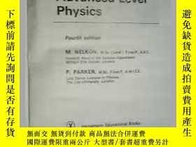 二手書博民逛書店Advanced罕見Level Physics (Fourth