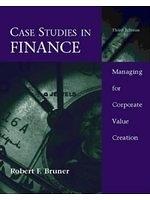 二手書博民逛書店《Case studies in finance : managing for corporate value creation》 R2Y ISBN:0256166986