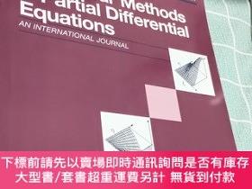 二手書博民逛書店numerical罕見methods for partial differential equations 201