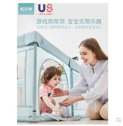 兒童遊戲圍 欄嬰兒室內寶寶爬行墊 防護柵欄 家用遊樂園