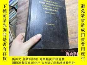 二手書博民逛書店handbook罕見of toxic and hazardous