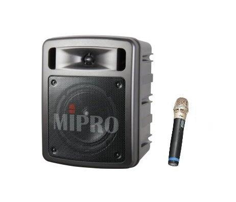 MIPRO 嘉強 MA-303SG 超迷你手提式無線擴音機2.4G/充電式喊話器/單頻/含充電座/贈無線麥克風1支