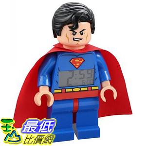 [美國直購] LEGO Kids 9005701 人偶鬧鐘 Super Heroes Superman Alarm Clock 超人 超級英雄