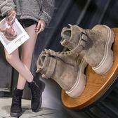 YAHOO618☸ 馬丁靴女新款 韓版百搭 短筒短靴子mousika
