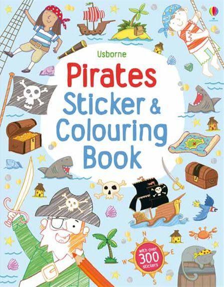 Pirates Colouring & Sticker Book 海盜著色貼紙書