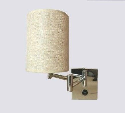 設計師美術精品館【宜家燈飾】現代簡約搖臂壁燈 臥室燈 床頭燈具 帶開關