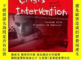 二手書博民逛書店Life罕見Space Crisis Intervention: Talking With Students In