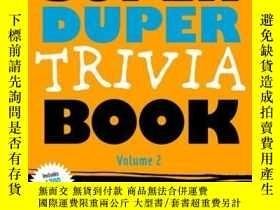 二手書博民逛書店The罕見Super Duper Trivia Book Volume 2Y410016 Cider Mill