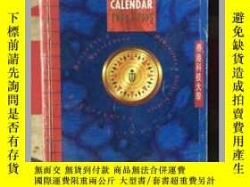 二手書博民逛書店罕見ACADEMIC CALENDAR【1994-1995】英文
