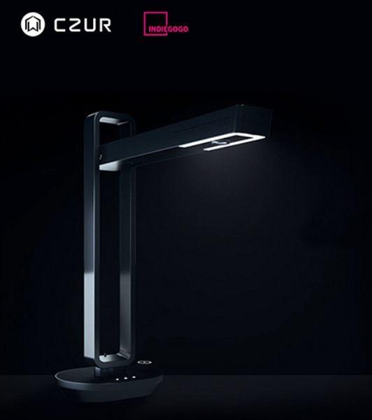 CZUR 2018紅點設計獎 AURA 折疊式 掃描器+檯燈 /台 (標準版 無內建電池)