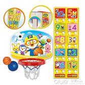 寶寶籃球架室內投籃框懸掛式家用小男孩玩具兒童投籃架可升降籃筐 深藏blue YYJ