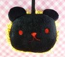 【震撼精品百貨】The bears school_上學熊~造型擦手巾-黑熊(綠巾)