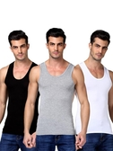 男士背心 男士背心棉質運動潮牌白跨欄修身型大碼無袖t恤青年夏季【免運直出】