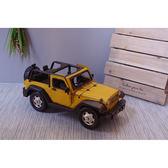 復古風鐵皮2012年吉普車模型交通工具擺飾物禮物-達可家居