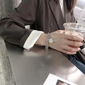 鈦鋼不掉色嘻哈潮人個性ins手錬女冷淡風小眾設計韓版簡約手飾品 快意購物網