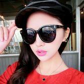 【TT】墨鏡女 明星款眼鏡新款圓形彩色太陽鏡女士圓臉韓版複古網紅眼鏡墨鏡