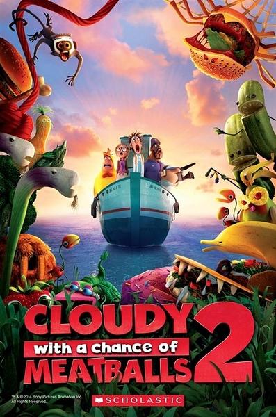 (二手書)Scholastic Popcorn Readers Level 2: Cloudy with a Chance of Meat..
