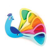 【美國Tender Leaf Toys】孔雀開屏色票卡(感官啟蒙學習教具)