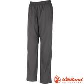 Wildland 荒野 W2319-93深灰色 女防風保暖長褲