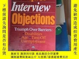 二手書博民逛書店Conquer罕見Interview ObjectionsY14465