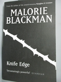 【書寶二手書T9/原文小說_INS】Knife Edge_Malorie Blackman