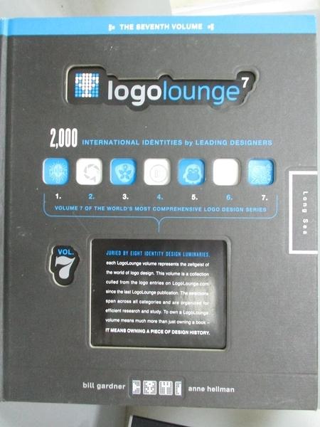 【書寶二手書T6/設計_QDH】LogoLounge7_Bill Gardner