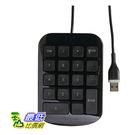 [9美國直購] Targus 便攜式數字鍵盤 AKP10US USB插頭 可連結筆記型電腦 桌機及其他設備 黑色