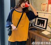 網紅t恤女短袖2019新款港風夏季寬鬆半袖百搭潮牌ins學生閨蜜上衣      橙子精品