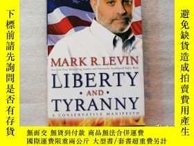 二手書博民逛書店英文原版罕見精裝 自由與專制:保守黨的宣言 Liberty and Tyranny: A Conservative